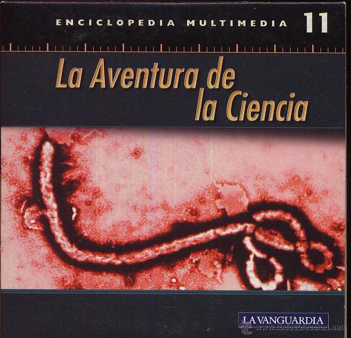 CDROM LA AVENTURA DE LA CIENCIA ENCICLOPEDIA MULTIMEDIA DE LA VANGUARDIA NUMERO 11 (Coleccionismo - Varios)