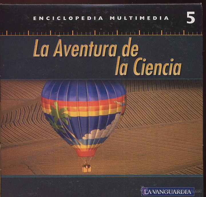 CDROM LA AVENTURA DE LA CIENCIA ENCICLOPEDIA MULTIMEDIA DE LA VANGUARDIA NUMERO 5 (Coleccionismo - Varios)