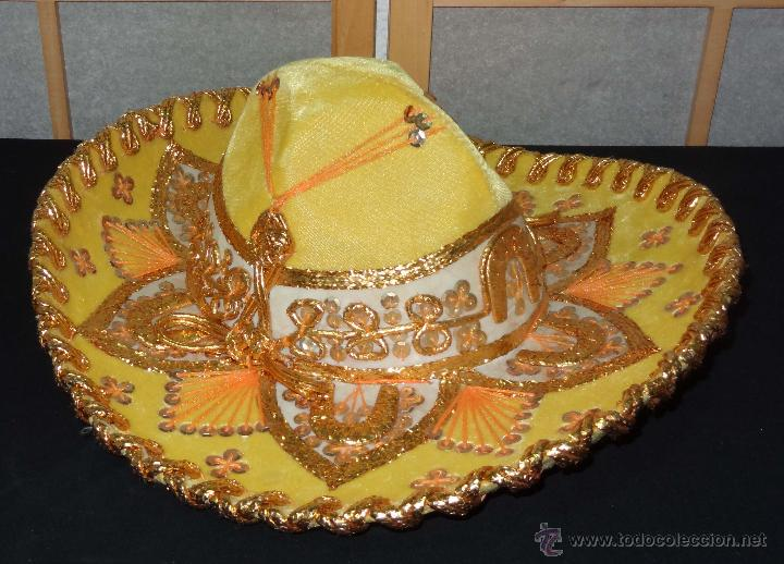 Coleccionismo  Sombrero mexicano BELRI - Hecho a mano - Foto 2 - 50243704 47beb775987