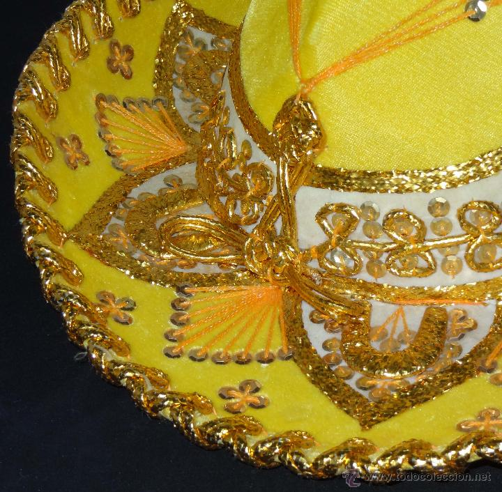 Coleccionismo  Sombrero mexicano BELRI - Hecho a mano - Foto 3 - 50243704 19c0dc51483