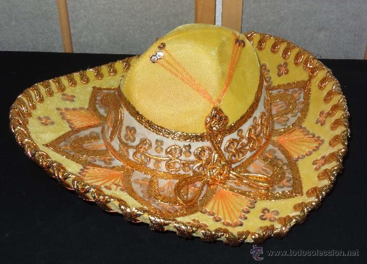 Coleccionismo  Sombrero mexicano BELRI - Hecho a mano - Foto 4 - 50243704 8abebbf7d11