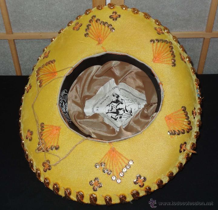 Coleccionismo  Sombrero mexicano BELRI - Hecho a mano - Foto 5 - 50243704 8a1ad07d094