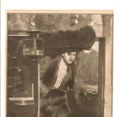 Coleccionismo: AÑO 1909 RECORTE PRENSA FOTOGRAFIA MERCEDES PARDO ARTISTA ACTRIZ TEATRO FOTO ALONSO. Lote 50263826