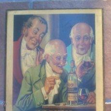Coleccionismo: BRANDY VIEJO CARBONELL. 1907 REPRODUCCION .40 X 30 CM.. Lote 50295828