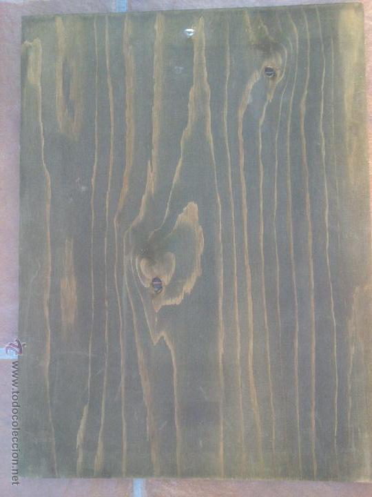 Coleccionismo: BODEGAS LEAL,CRIPTANA.CIUDAD REAL.1907 Reproduccion .40 x 30 cm. - Foto 3 - 50295832