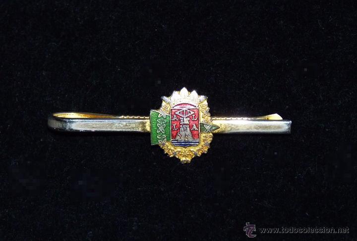 CORBATERO PISACORBATAS ESCUDO DE ALICANTE (Coleccionismo - Varios)