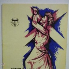 Coleccionismo: PROGRAMA OPUSCLE -SEMANA SANTA TARRAGONA 1970-COFRADIA S.MAGIN -CM. Lote 50343703
