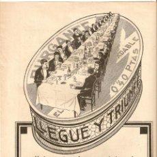 Coleccionismo: AÑOS 20 RECORTE PRENSA PUBLICIDAD PURGANTE YER. Lote 50360596