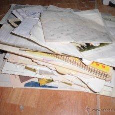 Coleccionismo: LOTE DE PAPELES Y DOCUMENTOS ANTIGUOS VARIOS FAMILIA DE ALICANTE CALLE SAN FERNANDO DESALOJO. Lote 50473230