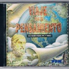 Coleccionismo: CD VIAJE POR EL PENSAMIENTO CD ROM. Lote 50548578