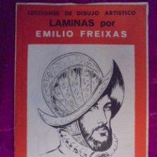 Coleccionismo: LAMINAS DIBUJO ARTISTICO EMILIO FREIXAS - SERIE Nº 9 - NO ES DE SEGUNDA MANO - SIN USAR. Lote 50581796