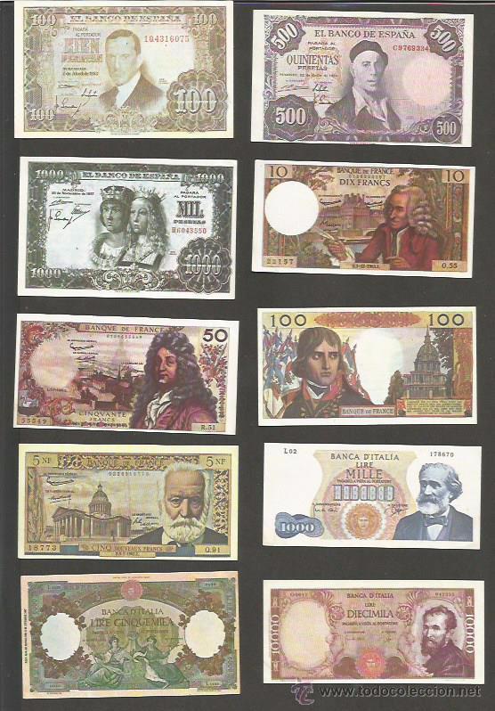 Coleccionismo: COLECCION 48 CROMOS TABACO - BILLETES - SENATOR - (CR-867) - Foto 2 - 50713856