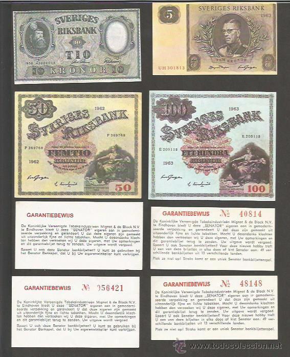 Coleccionismo: COLECCION 48 CROMOS TABACO - BILLETES - SENATOR - (CR-867) - Foto 6 - 50713856