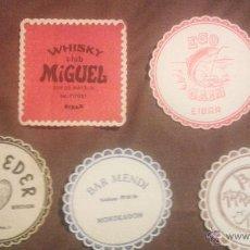 Coleccionismo: LOTE DE POSAVASOS EIBAR- MONDRAGON. Lote 50797565