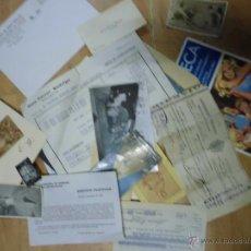 Coleccionismo: LOTE FOTOS DOCUMENTOS ANTIGUOS ALICANTE VALENCIA. Lote 50911718