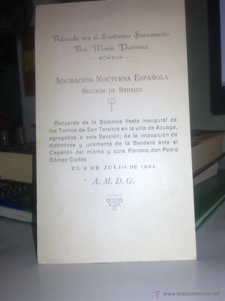Coleccionismo: ADORACION NOCTURNA ESPAÑOLA - - Foto 2 - 195383946