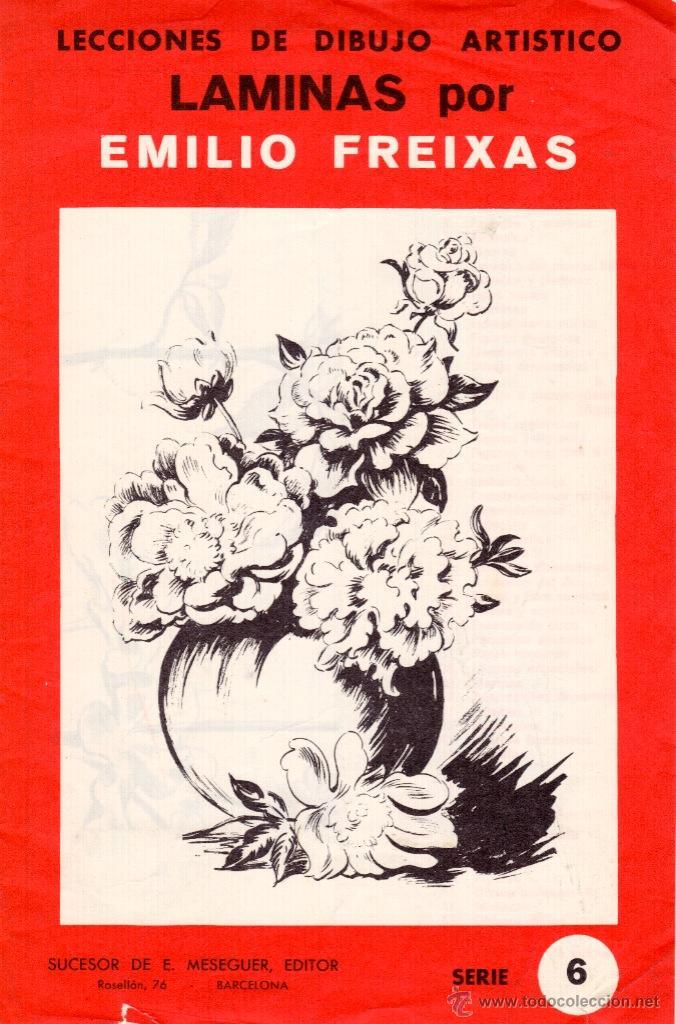 Laminas plantillas para dibujo art stico flore comprar documentos antiguos en todocoleccion - Laminas de dibujo artistico ...