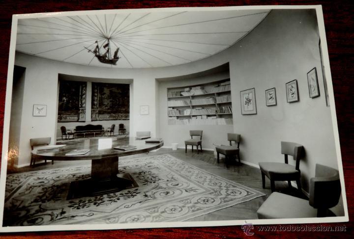 Coleccionismo: 22 FOTOGRAFIAS DE LA 1ª EXPOSICION NACIONAL DEL CULTIVO DEL TABACO, AÑO 1935, PALACIO DEL RETIRO, MA - Foto 8 - 51117782