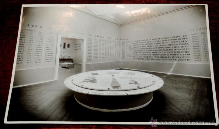 Coleccionismo: 22 FOTOGRAFIAS DE LA 1ª EXPOSICION NACIONAL DEL CULTIVO DEL TABACO, AÑO 1935, PALACIO DEL RETIRO, MA - Foto 14 - 51117782
