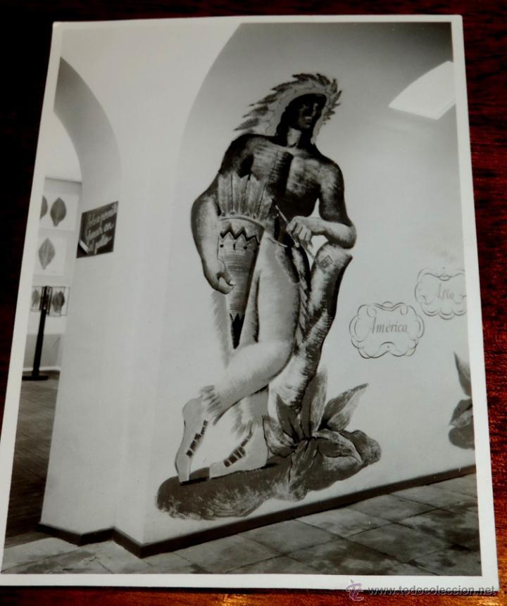 Coleccionismo: 22 FOTOGRAFIAS DE LA 1ª EXPOSICION NACIONAL DEL CULTIVO DEL TABACO, AÑO 1935, PALACIO DEL RETIRO, MA - Foto 19 - 51117782