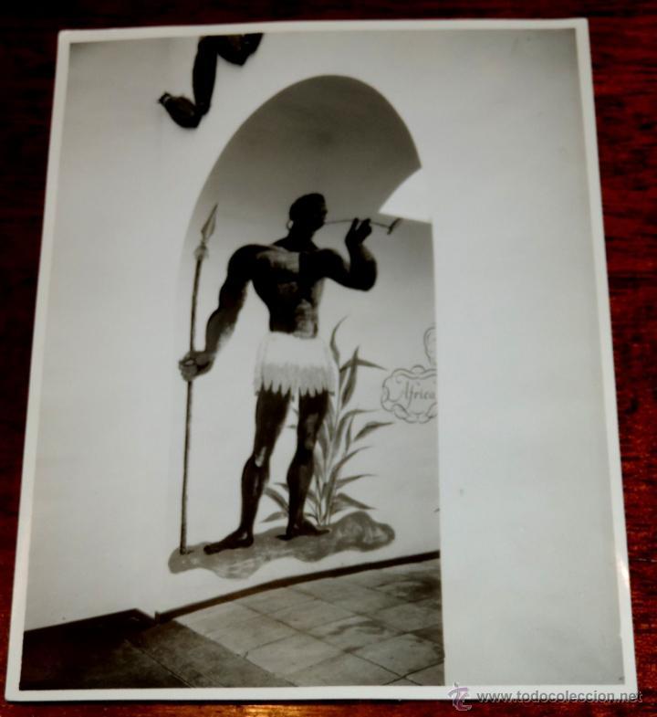 Coleccionismo: 22 FOTOGRAFIAS DE LA 1ª EXPOSICION NACIONAL DEL CULTIVO DEL TABACO, AÑO 1935, PALACIO DEL RETIRO, MA - Foto 21 - 51117782