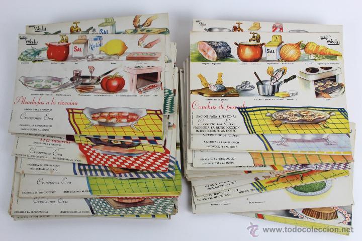 L 354 recetas fichas de cocina waly comprar - Cocinas anos 50 ...