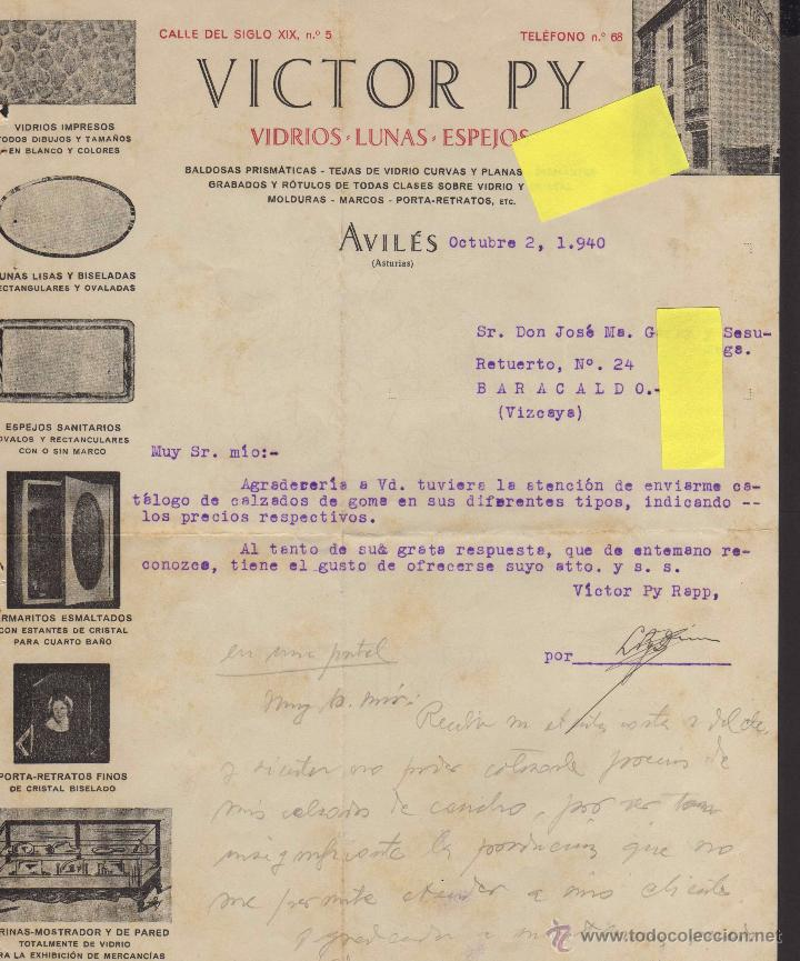 vidrio lunas espejos aviles asturias victor py - Comprar Documentos ...