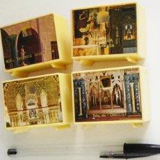 Coleccionismo: LOTE VISORES RECUERDOS DE CÓRDOBA LA ALHAMBRA CARTUJA GRANADA GORDIOLA VISOR TELEVISOR JUGUETE FOTOS. Lote 51155266