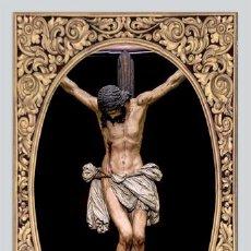 Coleccionismo: AZULEJO 40X25 DEL CRISTO DE LA BUENA MUERTE (HERMANDAD DE LOS ESTUDIANTES) DE SEVILLA.. Lote 51155996