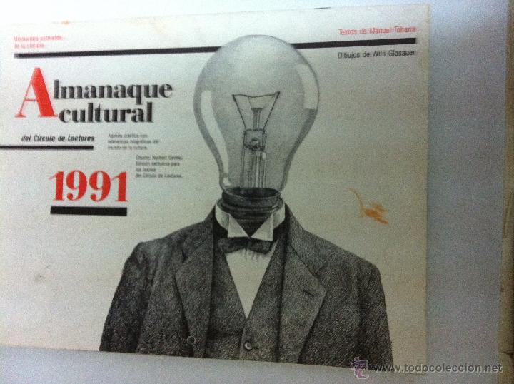 ALMANAQUE CULTURAL 1991 (Coleccionismo - Varios)