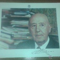 Coleccionismo: LAMINA FRANCISCO FRANCO. EDITADA POR FUNDACIÓN NACIONAL FRANCISCO FRANCO.. Lote 51369500