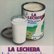 Coleccionismo: PUBLICIDAD LA LECHERA DE NESTLE. Lote 51381439