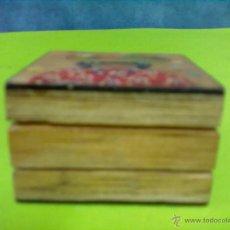 Coleccionismo: MADERA PINTADA CAJA CUADRADA. Lote 51404815