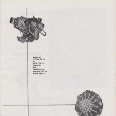 Coleccionismo: PUBLICIDAD AVIONES EMPRESA NACIONAL DE MOTORES DE AVIACION S.A DE 1959. Lote 98016691