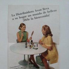 Coleccionismo: FOLLETO AVON COSMETICS - 1972. Lote 51513377