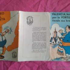 Coleccionismo: FALLAS DE VALENCIA. FALLA NA JORDANA. PUBLICIDAD DE SORTEO DEL TURISTA. 1965. Lote 51707289