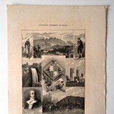 Coleccionismo: BARCELONA * DICCIONARIO GEOGRAFICO - ESTADISTICO. Lote 51714323