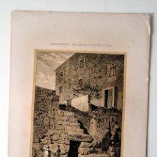 Coleccionismo: TARRAGONA MUROS Y PUERTA CICLOPEA * DICCIONARIO GEOGRAFICO - ESTADISTICO. Lote 51714733