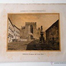 Coleccionismo: TARRAGONA MONASTERIO DE SANTAS CREUS * DICCIONARIO GEOGRAFICO - ESTADISTICO. Lote 51714784