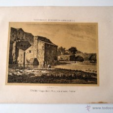 Coleccionismo: CORDOBA ANTIGUO MOLINO MORO JUNTO AL PUENTE ROMANO * DICCIONARIO GEOGRAFICO - ESTADISTICO. Lote 51714880