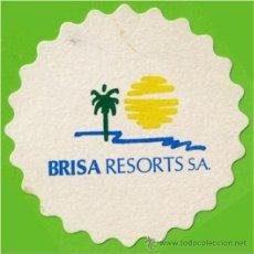 Coleccionismo: POSAVASOS - BRISA RESORTS - PAPEL CARTON - 8,5CM DIAMETRO. Lote 51767053