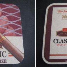 Coleccionismo: CASTELLA CLASSIC. POSAVASOS TABACO, CIGARRILLOS. Lote 51768618