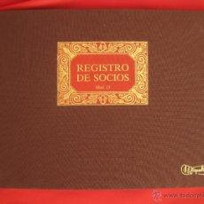 Coleccionismo: LIBRO MAYOR --REGISTRO DE SOCIOS--SIN USO GRANDE CUADERNO LIBROS CONTABILIDAD EMPRESA. Lote 52167393