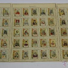 Coleccionismo: 73 CROMOS DE CAJAS DE CERILLAS (SERIE 18) PAPEL GRUESO, PEGADOS SOBRE HOJAS, LOS CROMOS MIDEN 4,5 X . Lote 52169303