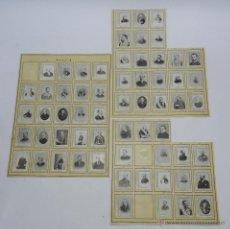 Coleccionismo: 61 CROMOS DE CAJAS DE CERILLAS (SERIE 10) PAPEL GRUESO, PEGADOS SOBRE HOJAS, LOS CROMOS MIDEN 4,5 X . Lote 52169385