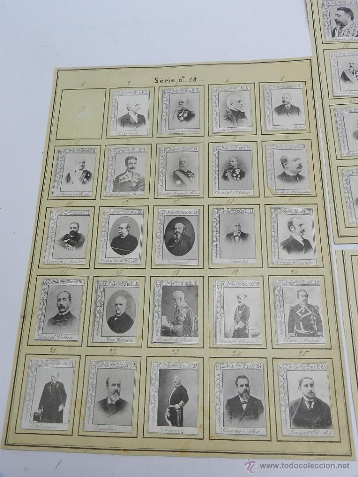 Coleccionismo: 61 CROMOS DE CAJAS DE CERILLAS (SERIE 10) PAPEL GRUESO, PEGADOS SOBRE HOJAS, LOS CROMOS MIDEN 4,5 x - Foto 2 - 52169385