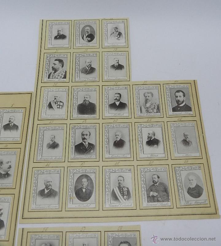 Coleccionismo: 61 CROMOS DE CAJAS DE CERILLAS (SERIE 10) PAPEL GRUESO, PEGADOS SOBRE HOJAS, LOS CROMOS MIDEN 4,5 x - Foto 3 - 52169385