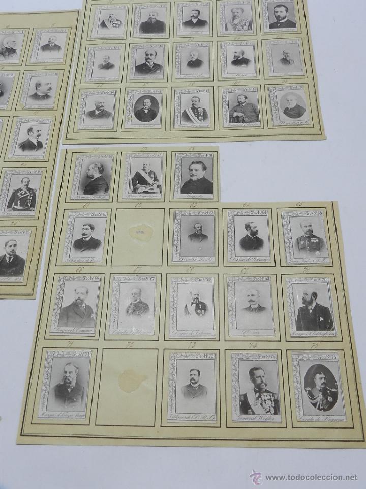 Coleccionismo: 61 CROMOS DE CAJAS DE CERILLAS (SERIE 10) PAPEL GRUESO, PEGADOS SOBRE HOJAS, LOS CROMOS MIDEN 4,5 x - Foto 4 - 52169385