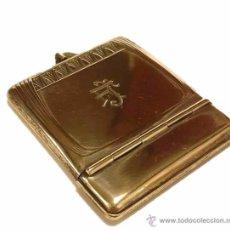Coleccionismo: ANTIGUA MISTERA CAJITA CERILLERO EN PLATA CINCELADA EPOCA MODERNISTA - SIGLO XIX PRINCIPIOS S.XX. Lote 49965027