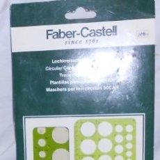 Coleccionismo: PLANTILLA PARA CÍRCULOS 906AN FABER-CASTELL. Lote 52319263